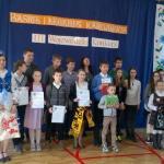 Trzy laureatki  wojewódzkiego konkursu są z Głodnicy