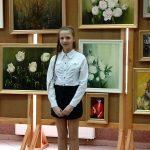 Ola zdobyła I miejsce w gminnym konkursie recytatorskim