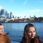 Ola i Wera w Londynie