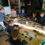 Dary jesieni na lekcjach plastyki i techniki